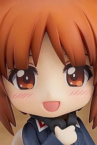 GOOD SMILE COMPANY (GSC) Girls und Panzer das Final Nendoroid Nishizumi Miho Panzer Jacket & Peacoat Ver.