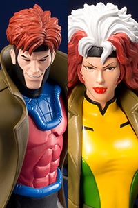 KOTOBUKIYA ARTFX+ MARVEL UNIVERSE Gambit & Rogue 2-Pack 1/10 PVC Figure