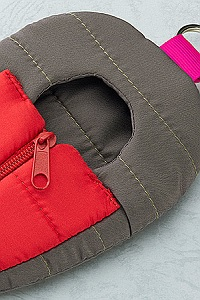 GOOD SMILE COMPANY (GSC) Nendoroid Odekake Pouch Sleeping Bag Gray & Red Ver.
