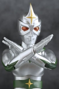 EVOLUTION TOY Hero Action Figure Mirrorman Action Figure (Re-release)