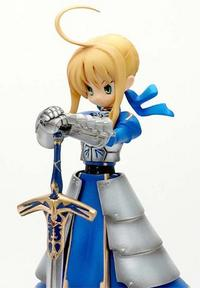Griffon Enterprises Solid Maid Series Harada Fukido Collection Fate/stay night Saber Armor Ver. PVC Figure (2nd Production Run)