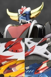 EVOLUTION TOY Dynamite Action! Grendizer & Spazers Set Action Figure