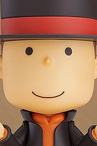 GOOD SMILE COMPANY (GSC) Layton Mystery Detective Agency -Kat's Mystery Solving Files- Nendoroid Professor Layton