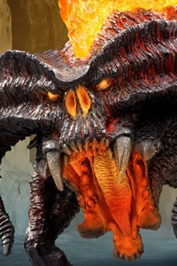 X PLUS Defo-Real The Lord of the Rings Balrog PVC Figure