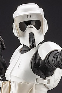 KOTOBUKIYA ARTFX+ Star Wars: Episode VI Return of the Jedi Scout Trooper 1/10 PVC Figure