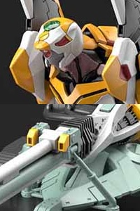 BANDAI SPIRITS RG General Purpose Humanoid Battle Weapon Evangelion EVA-00 Test Type DX Positron Cannon Set Plastic Kit