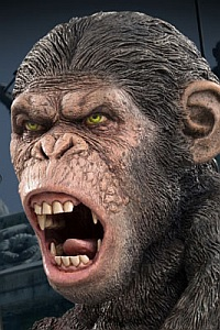 X PLUS Defo-Real Planet Of The Apes Caesar 2 PVC Figure