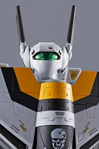 BANDAI SPIRITS DX Chogokin First Production Limited Edition VF-1S Valkyrie Roy Fokker Special