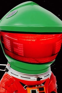 X PLUS Defo-Real 2001: A Space Odyssey Astronaut 2.0 Red Suit & Green Helmet PVC Figure