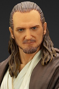 KOTOBUKIYA ARTFX+ Star Wars: The Phantom Menace Qui-Gon Jinn 1/10 PVC Figure