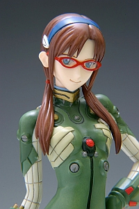 WAVE Evangelion 2.0 Mari Illustrious Makinami Plug Suit Ver. 1/10 PVC FIgure (2nd Production Run)