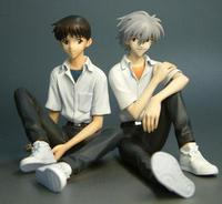 KOTOBUKIYA Neon Genesis Evangelion Shinji & Kaworu Uniform Ver. 1/8 PVC Figure (2nd Production Run)