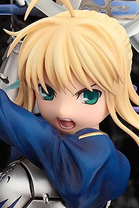 GOOD SMILE COMPANY (GSC) Fate/stay night Saber -Triumphant Excalibur- 1/7 PVC Figure (3rd Production Run)
