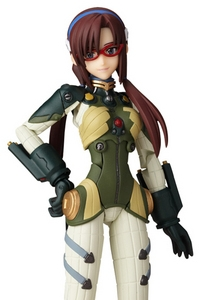 KAIYODO Fraulein Revoltech No.020 Evangelion 2.0 Makinami Mari Illustrious Old Type Plug-suit