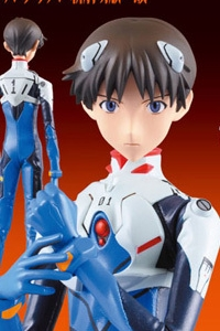 MedicomToy REAL ACTION HEROES Evangelion 1.0 Ikari Shinji (2nd Production Run)