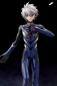 MegaHouse G.E.M. Series Evangelion 2.0 Nagisa Kaworu 1/8 PVC figure (2nd Production Run)