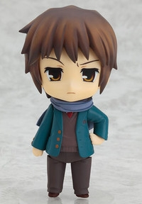 GOOD SMILE COMPANY (GSC) The Melancholy of Suzumiya Haruhi Nendoroid Kyon Disappearance Ver.