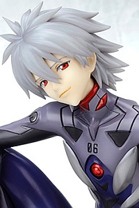 KOTOBUKIYA Rebuild of Evangelion Nagisa Kaworu -Plug Suit Ver.- :RE 1/6 PVC Figure (3rd Production Run)