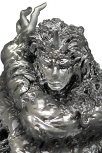 SEN-TI-NEL JoJo's Bizarre Adventure The Paperweight that Stopped Kars' Thinking Silver Ver.