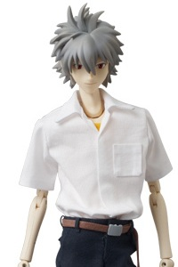 MedicomToy REAL ACTION HEROES Evangelion 2.0 Nagisa Kaworu School Uniform Edition