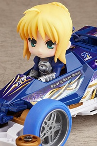 GOOD SMILE COMPANY (GSC) Nendoroid Petit X Mini 4WD Saber drives Super Saber Special