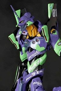 KAIYODO Revoltech No.100 EX Rebuild of Evangelion Eva Unit 01 Eva Racing 2012 Evangelion RT Unit 01 Apple Shiden