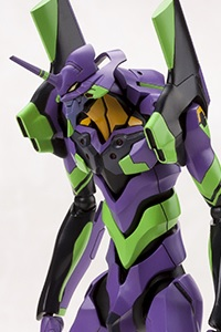 KOTOBUKIYA Evangelion 2.0 General Purpose Humanoid Battle Weapon Eva Unit 01 1/400 Plastic Kit (9th Production Run)