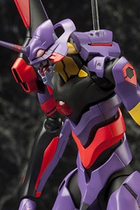 KOTOBUKIYA Rebuild of Evangelion General Purpose Humanoid Battle Weapon EVA-01 Awakening Ver. 1/400 Plastic Kit (6th Production Run)