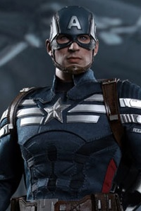 Hot Toys Movie Masterpiece Captain America Winter Solider Captain America Stealth Suit Ver.1/6 Action Figure