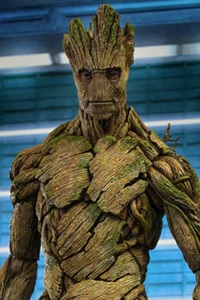 Hot Toys Movie Masterpiece Guardians of the Galaxy Groot 1/6 Action Figure
