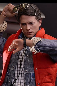 Hot Toys Movie Masterpiece Back To The Future Martin McFly 1/6 Action Figure