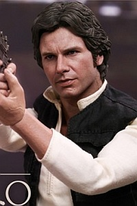 Hot Toys Movie Masterpiece Star Wars Han Solo A New Hope Ver. 1/6 Action Figure