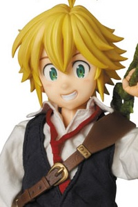 MedicomToy REAL ACTION HEROES No.709 The Seven Deadly Sins Meliodas Action Figure