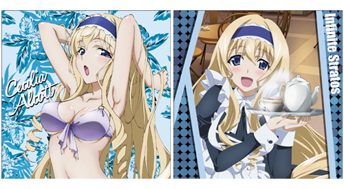 COSPA Infinite Stratos Cushion Covers - Part 2