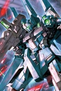 Gundam Unicorn MG 1/100 RGZ-95 ReZEL Commander Type