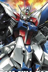 Gundam Build Fighters HG 1/144 Build Strike Gundam Full Package