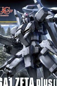 Gundam Unicorn HGUC 1/144 MSZ-006A1 ZETA Plus (Unicorn ver.)