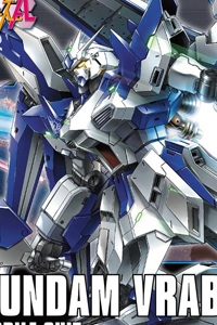 Gundam Build Fighters HG 1/144 Hi-Nu Gundam Vrabe