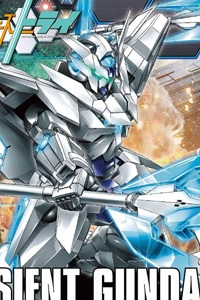 Gundam Build Fighters HG 1/144 Transient Gundam
