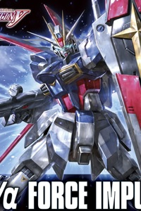 Gundam SEED HG 1/144 ZGMF-X56S/α Force Impulse Gundam