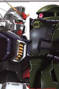 The 08th MS Team HG 1/144 RX-79[G] Gundam VS MS-06J Zaku II