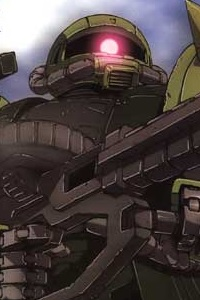 The 08th MS Team HG 1/144 MS-06J Zaku II