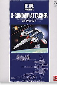 Gundam Sentinel EX MODEL 1/144 S-Gundam Attacker