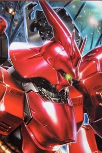 Bandai Char's Counterattack MG 1/100 MSN-04 Sazabi Metallic Coating Ver.